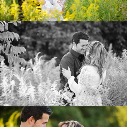 Erica & John's Engagement Session at LeRoy Oakes