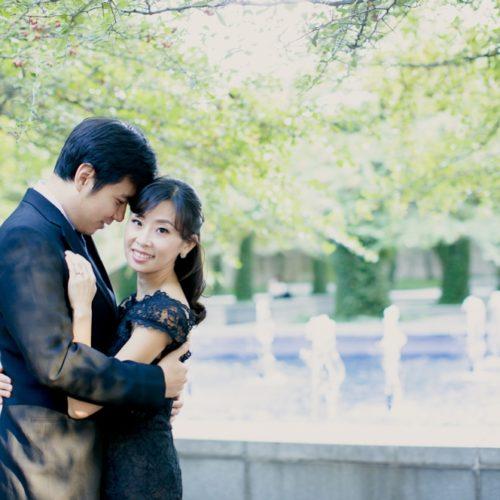 Hye-Sun & Rafael's Chicago Engagement Session