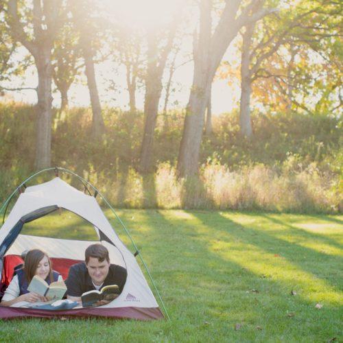 Megan & Dakota's Engagement Session at Glacier Park