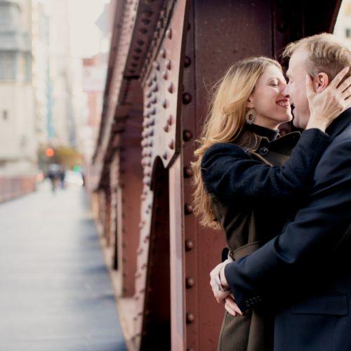 Lauren & Luke's Chicago Engagement
