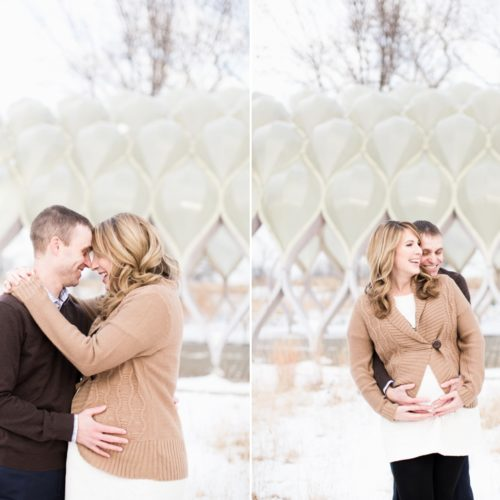 Amy & Jason's Chicago Maternity Session
