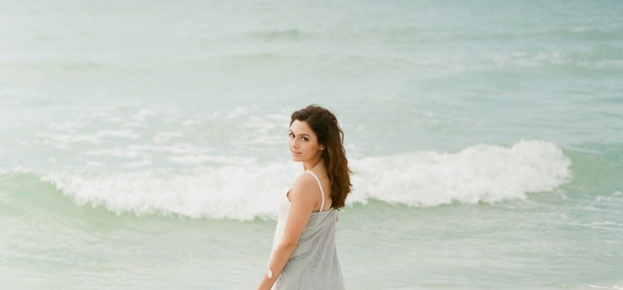 Laurie's Senior Session in Longboat Key, Florida