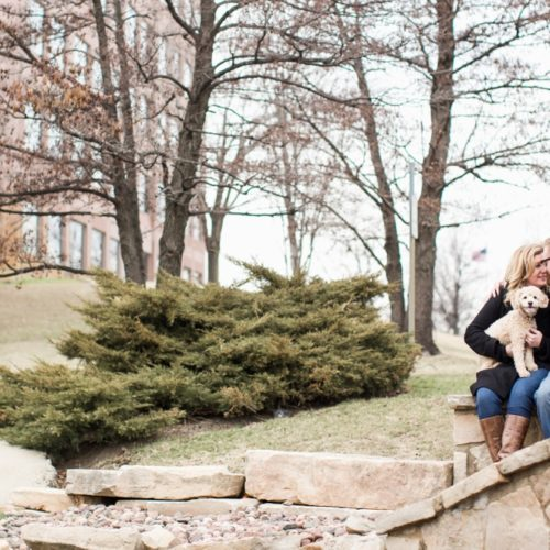 Jennifer & Scott's Burr Ridge Engagement Session