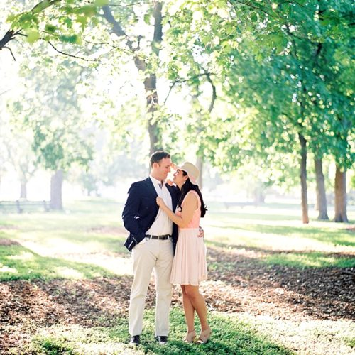 Alexandra & Conor's Chicago Engagement Session
