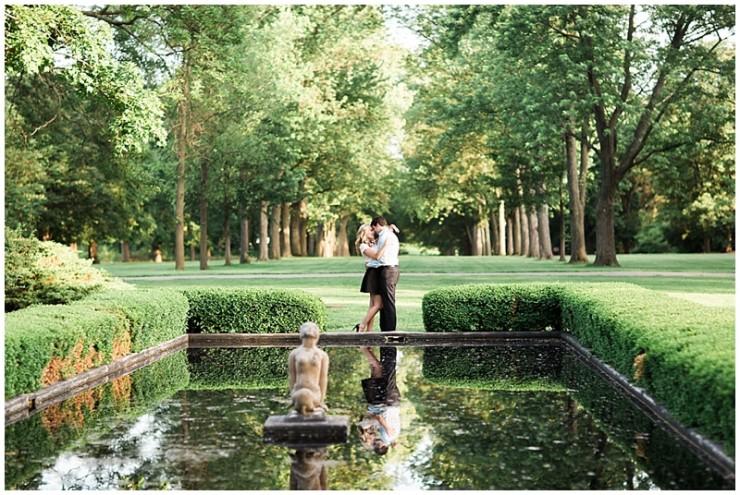 Cantigny Gardens Wheaton Chicago Film Engagement Photographer