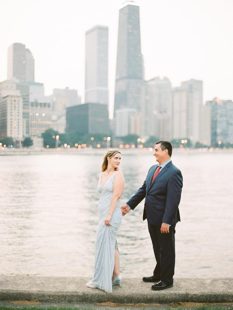 Kristin-La-Voie-Photography-Chicago-Engagement-State-street-olive-park-27