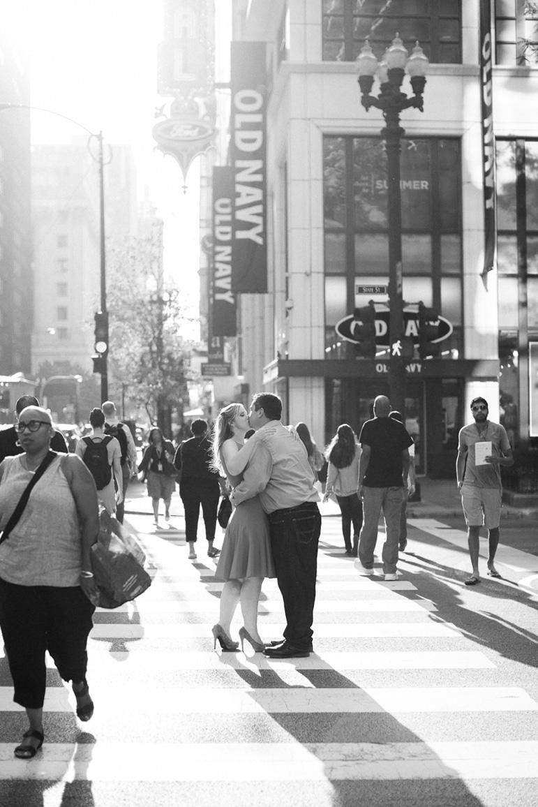 Kristin-La-Voie-Photography-Chicago-Engagement-State-street-olive-park-4