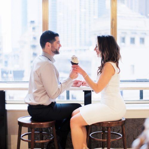 Ghirardelli Chicago Engagement