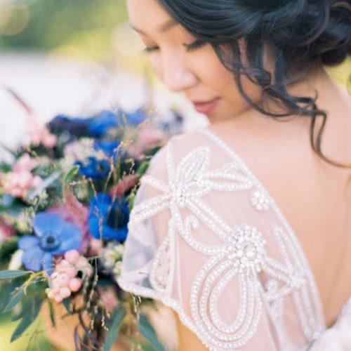 European Garden Wedding Photos