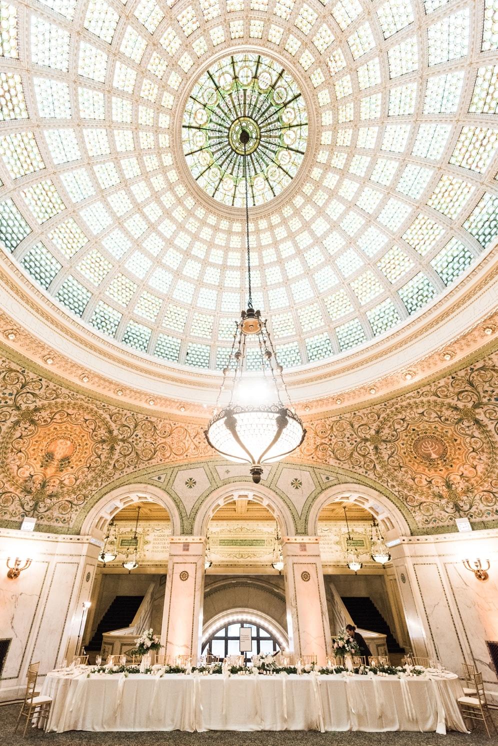 Chicago Cultural Center Wedding.Chicago Cultural Center Wedding Kristin La Voie