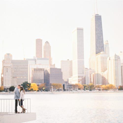 Chicago Olive Park Engagement