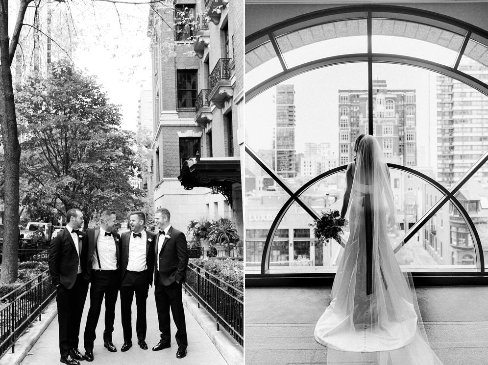 Thompson Hotel Chicago Wedding Kristin La Voie
