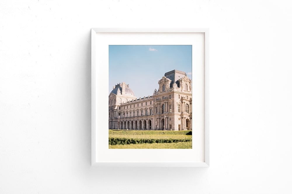 Louvre Paris Fine Art Print Paris