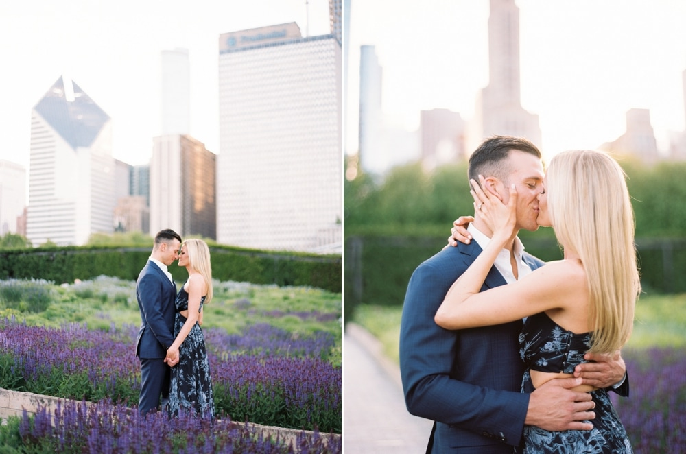 kristin-la-voie-photography-Chicago-Wedding-Photographer-Art-Institute-Lurie-Garden-Millennium-Park-29