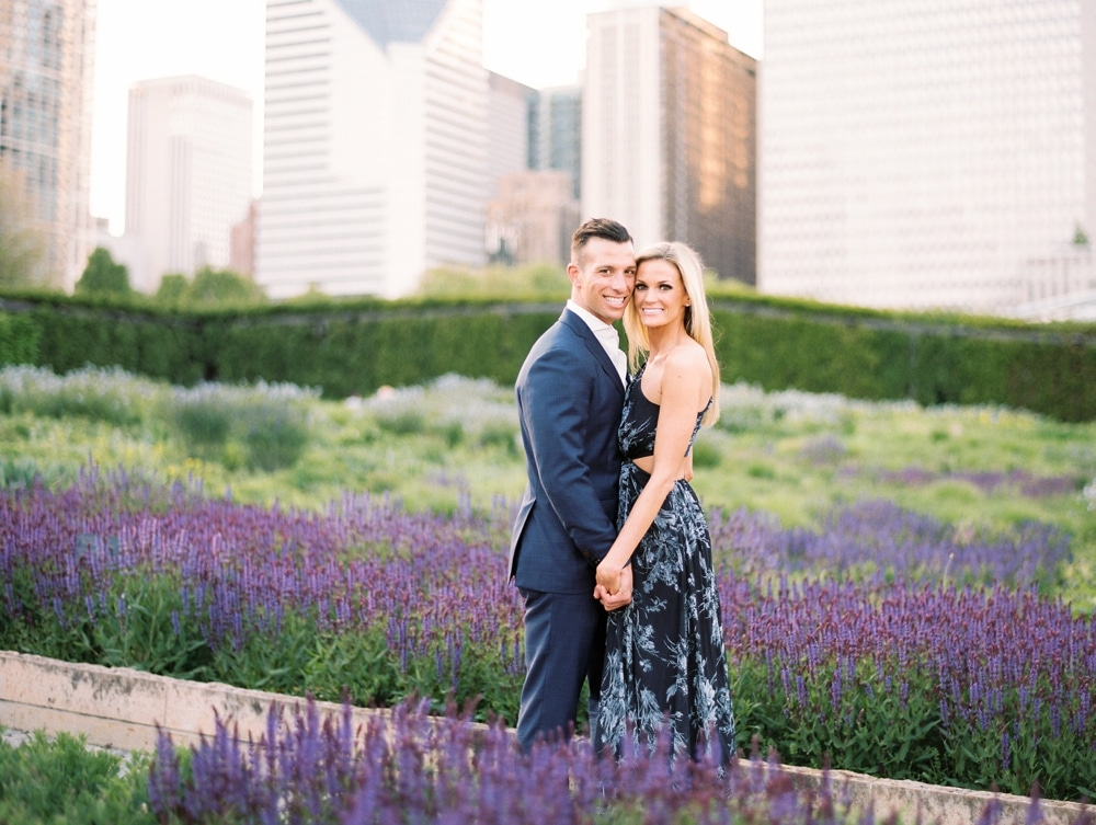 kristin-la-voie-photography-Chicago-Wedding-Photographer-Art-Institute-Lurie-Garden-Millennium-Park-32