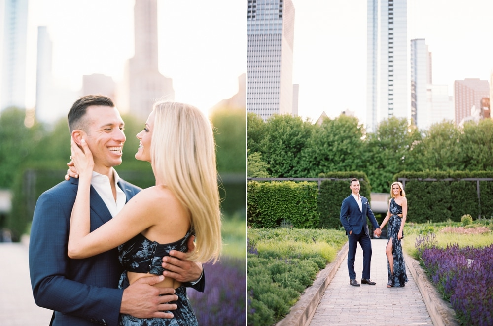 kristin-la-voie-photography-Chicago-Wedding-Photographer-Art-Institute-Lurie-Garden-Millennium-Park-35
