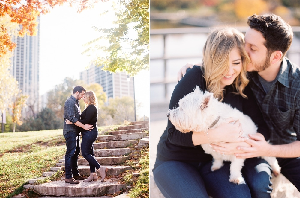 Kristin-La-Voie-Photography-Chicago-Wedding-Photographer-South-Pond-Dog-Engagement-Lincoln-Park-14