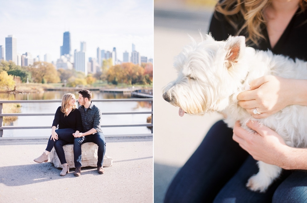 Kristin-La-Voie-Photography-Chicago-Wedding-Photographer-South-Pond-Dog-Engagement-Lincoln-Park-18