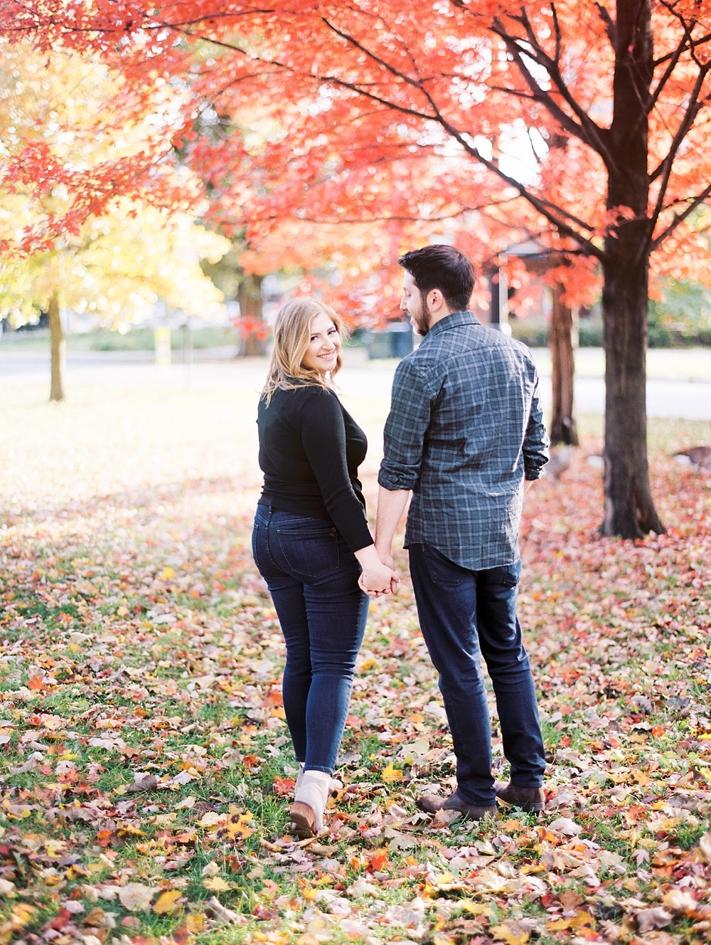 Kristin-La-Voie-Photography-Chicago-Wedding-Photographer-South-Pond-Dog-Engagement-Lincoln-Park-26