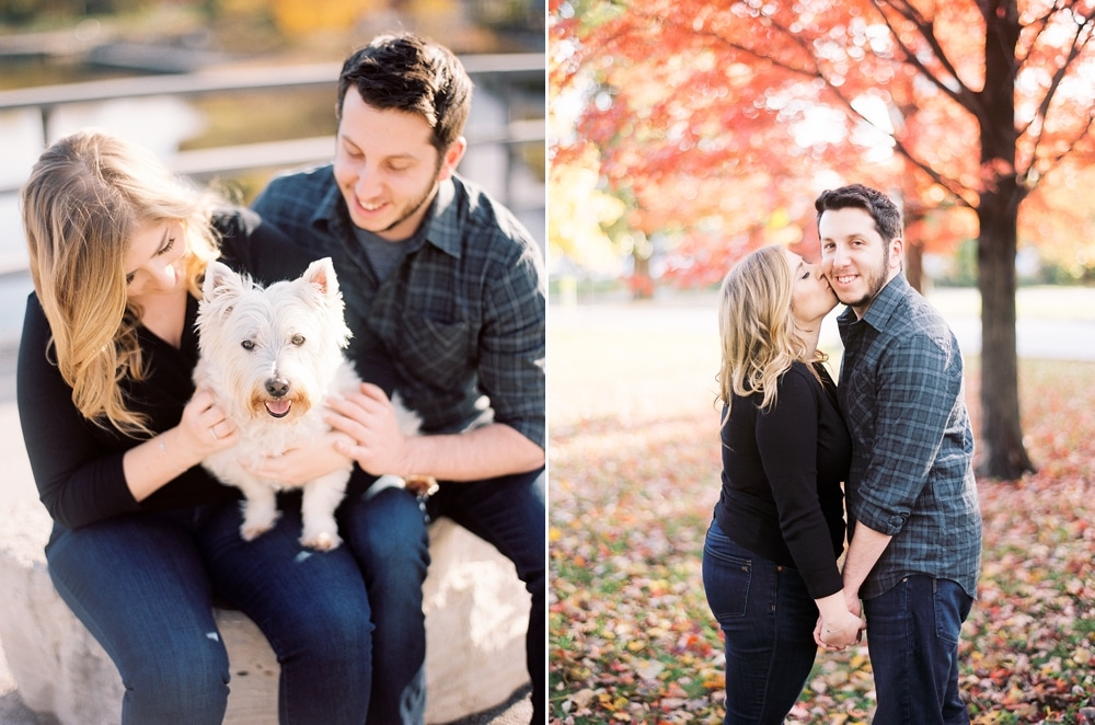 Kristin-La-Voie-Photography-Chicago-Wedding-Photographer-South-Pond-Dog-Engagement-Lincoln-Park-8