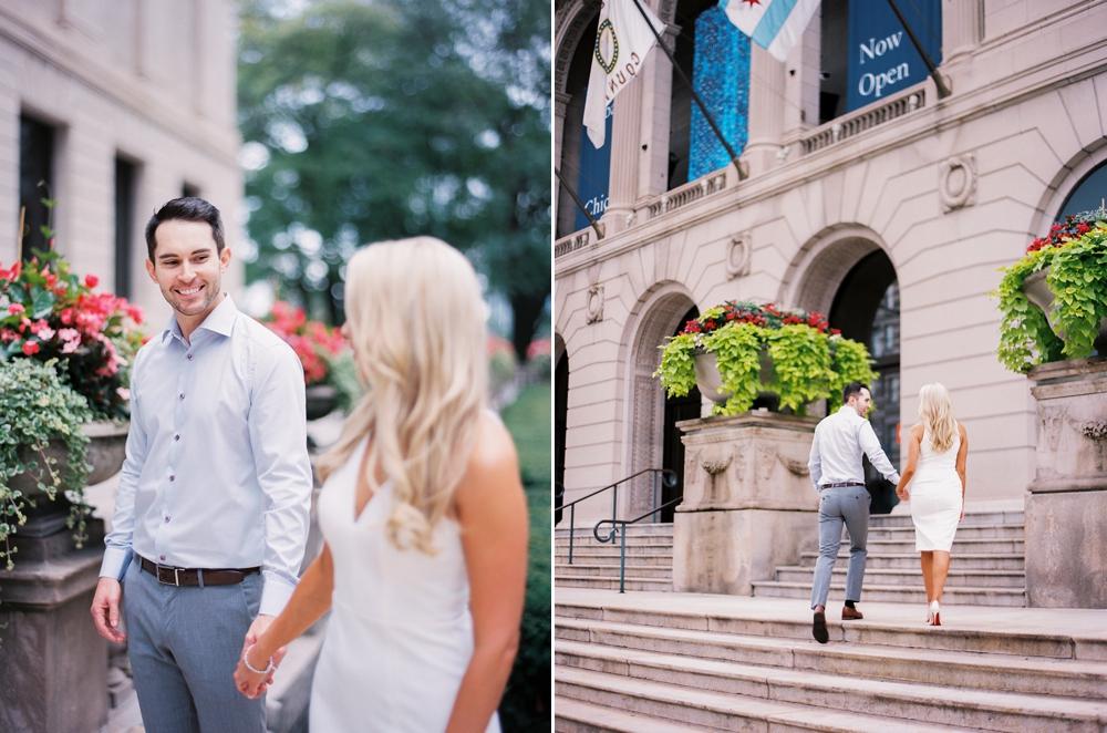 Art Institute Chicago Wedding Photos