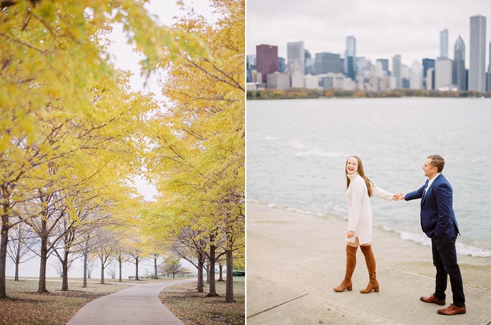kristin-la-voie-photography-chicago-Wedding-Photographer-museum-campus-adler-planetarium-engagement-55