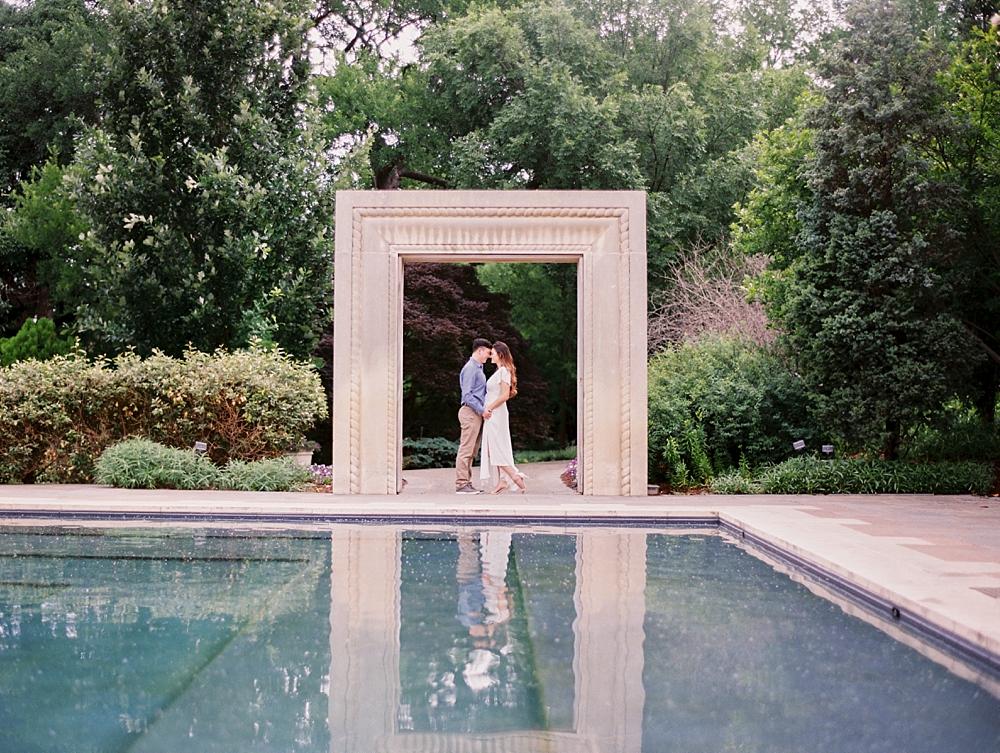 dallas arboretum engagement