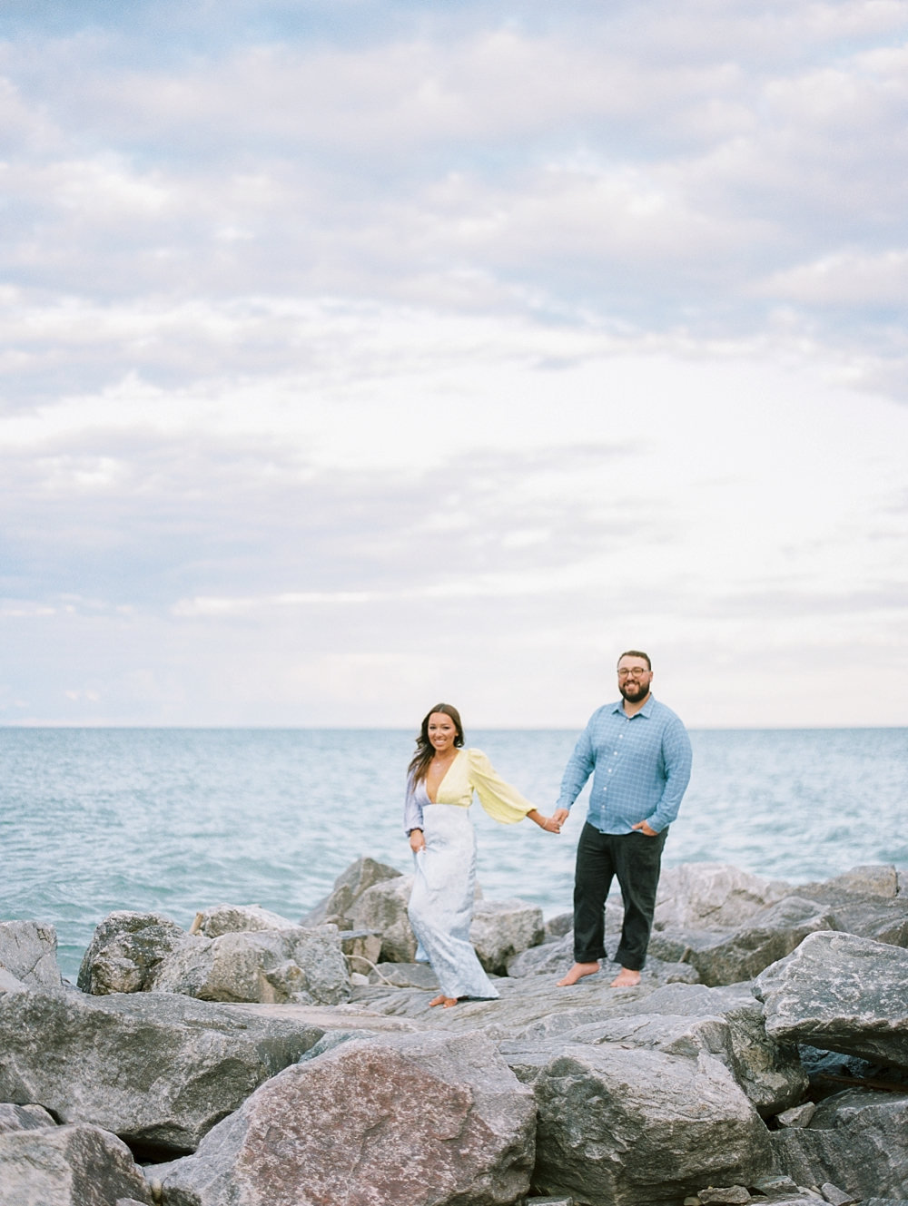 kristin-la-voie-photography-Chicago-Engagement-glencoe-beach-lake-michigan-3
