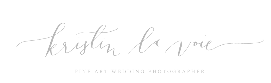 Kristin La Voie Photography | Chicago & California Fine Art Wedding Photographer logo
